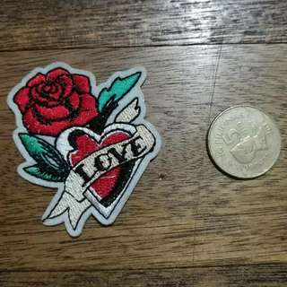 Love Rose Patch