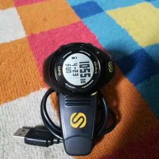 SOLEUS SG100 Black Running GPS Watch