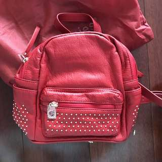 Brand New Hush Puppies Red Backpack