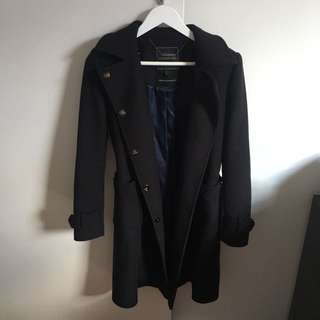 Forever New Coat Navy Size 6