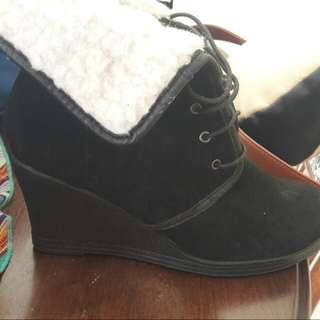 Winter Wedge Boot