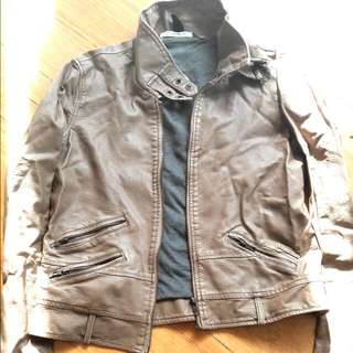 Billabong Brown Leather Jacket