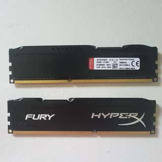Kingston HyperX Fury 8GB RAM Kit