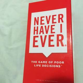 Never Have I Ever- Party Card Game