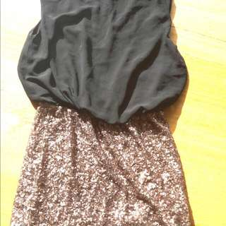 Lippy Sequin Dress