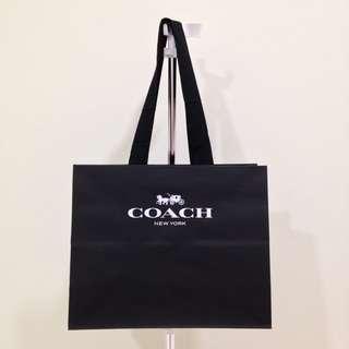 Authentic Coach Medium Paperbag