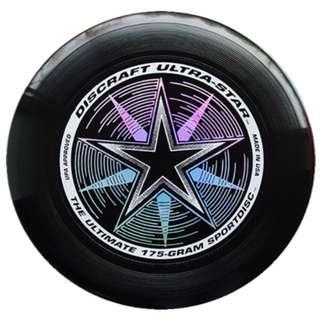 New Black Frisbee Discraft 175g USA