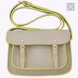 Indigo Chapters Satchel Bag In Taupe
