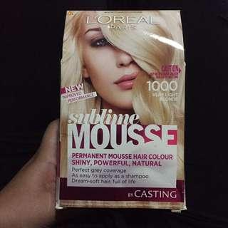 L'Oreal Sublime Mousse Hair Colour