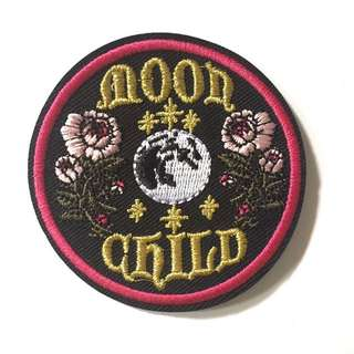 🌕🌸Moon Child Iron On Patch