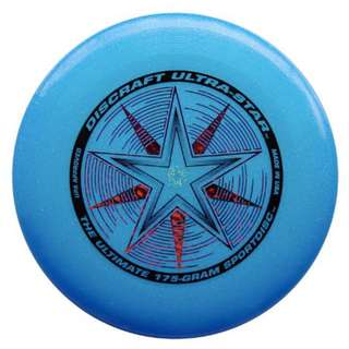 New Blue Sparkle Frisbee Discraft 175g USA