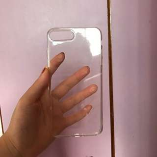 Iphone 7+ Clear Cover