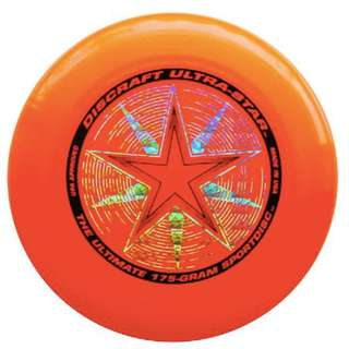 New Orange Frisbee Discraft 175g USA