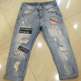 Tattered Jean Pm Me If Interested