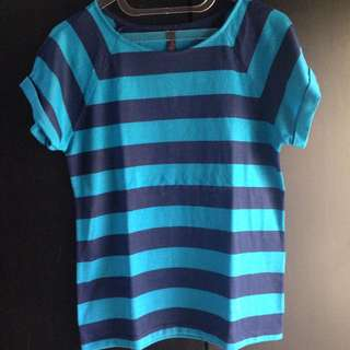 Blue Top Stripe