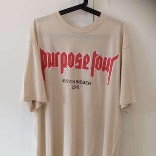 Justin Bieber Purpose Tour Tee