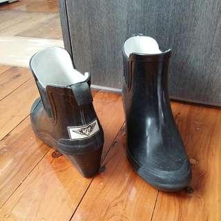 Heeled Gumboots Rain Boots