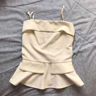 white tanktop from chocochip boutique