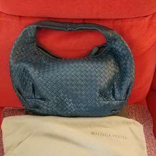 Bottega Veneta Blue Hobo Bag