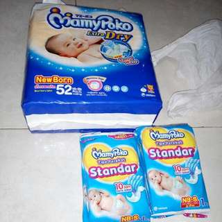 Jual Pampers New Born