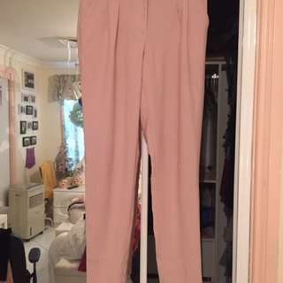 Forever21 Pink Tailored Pants Size XS
