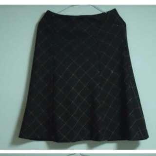 及膝裙(隱形拉鍊)