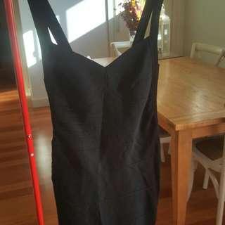 Black Bandage Dress Size 10