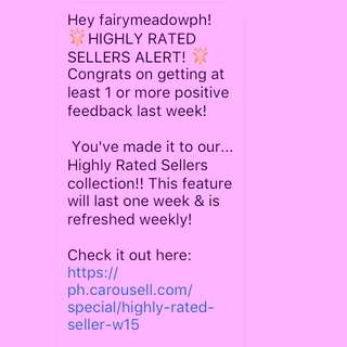 HIGHLY RATED SELLER!!! 👏