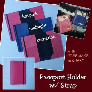 Passport Holder with Strap