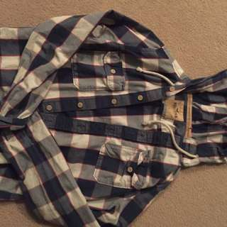 Hollister Hooded Flannel
