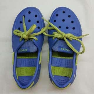 Blue Crocs Shoes