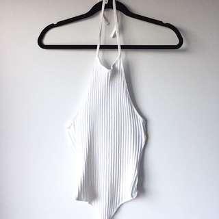 Size 12 Halter-Neck Bodysuit