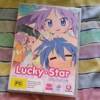 Lucky Star anime complete collection