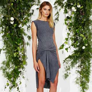 Maurie And Eve Grey Dress