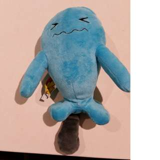 Pokemon Wobuffet plushie with sound