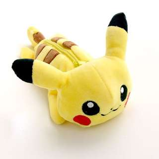 Pokemon- Pikachu Plush Pencil/ Cosmetic Case