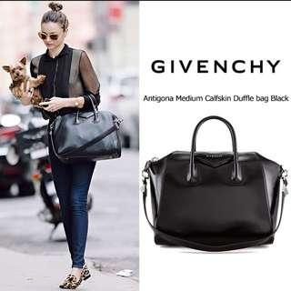 Givenchy Antigona Black calfskin medium