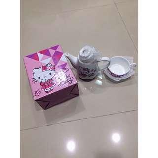 Hello Kitty變身杯壺組