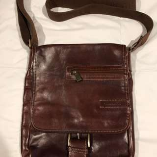 Chiarugi Leather Bag, hand made in Florence