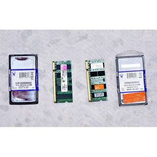 Notebook RAM - 2GB PC3-10600S