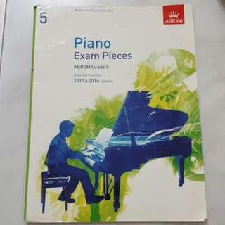 Abrsm Piano Exam Pieces Grade 5