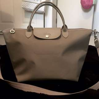 Longchamp Le Pliage Neo Chalk NUDE Color