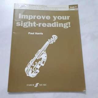 Violin Sight Reading Grade 3
