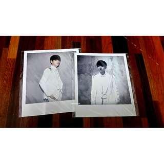 EXO Baekhyun Polaroid