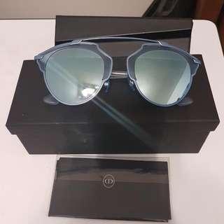 Dior mirror sunglasses (light blue)