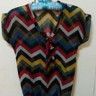 Unbranded Multicolored Blouse
