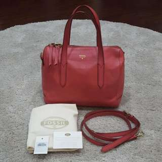 Fossil Sydney Satchel Original From US Store