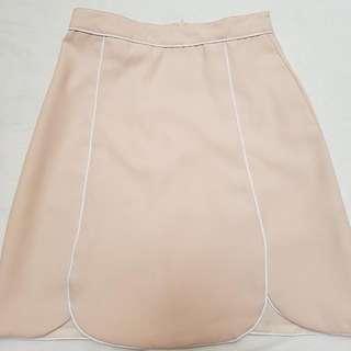 !NEW! Beige Formal Skirt