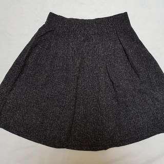 !NEW! Black Flare Skirt