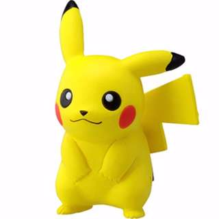 Pokemon Takara Tomy Monster Collection Moncolle Pikachu Figure + Oyasumi Friends Zygarde / Puni Chan